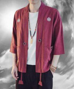Awesome Anime Warrior Linen Kimonos