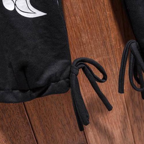 Cool Cloud Pattern Cotton Linen Pants