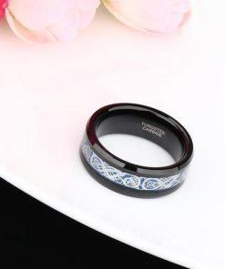 Celtic Dragon Tungsten Tungsten Carbide Ring