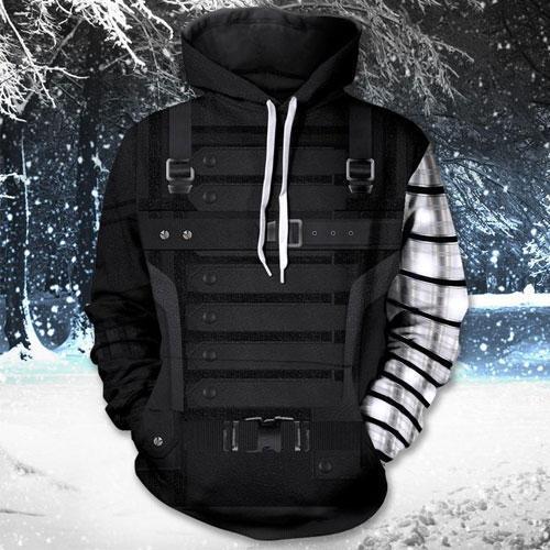 Winter Soldier Unisex Hoodie